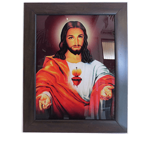 The holy heart of Jesus
