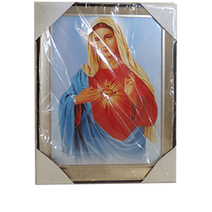 The pure heart of the Virgin Mary